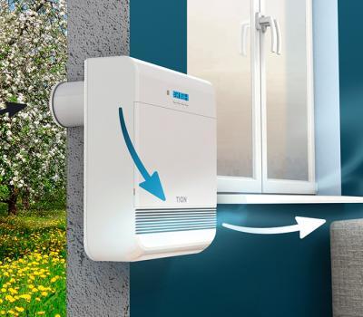 Как работает вентиляция и как распределяются потоки воздуха в квартире, где установлен бризер